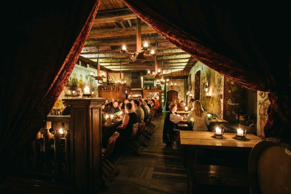 Olde Hansa Restaurant Interior